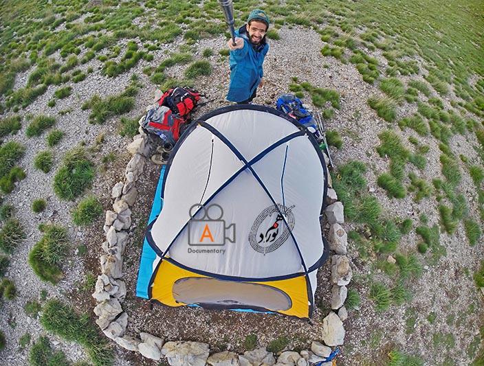 سنگ چین، چادر، عکس یادگاری