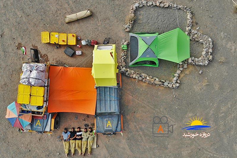کمپ طولانی مدت و تعمیرات خودرو