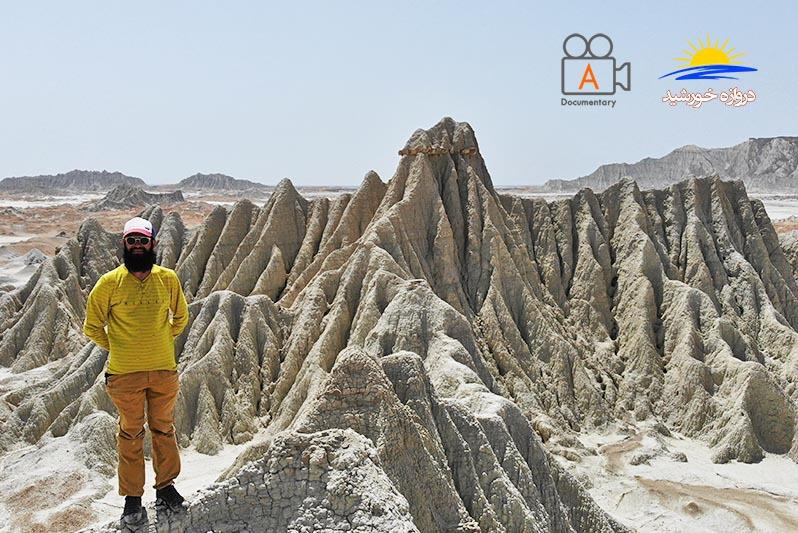 بر فراز کوه های مریخی