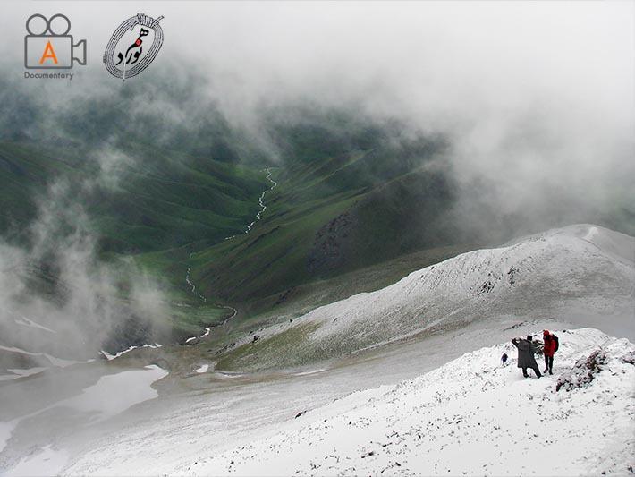 در مسیر بارگذاری قله نرگس