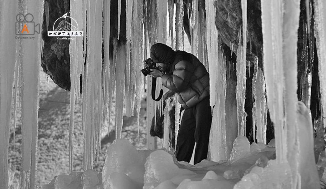 عکاسی از آبریز یخ زده ،کندلوس