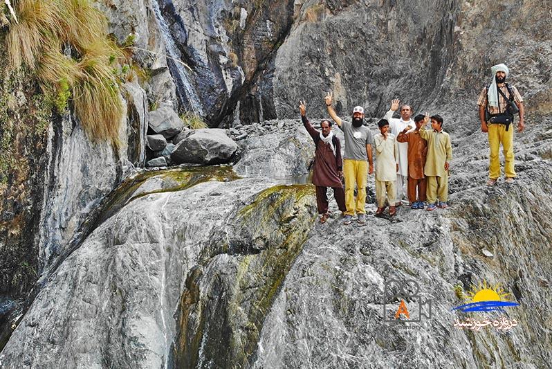 بر فراز آبشار آبند قصرقند