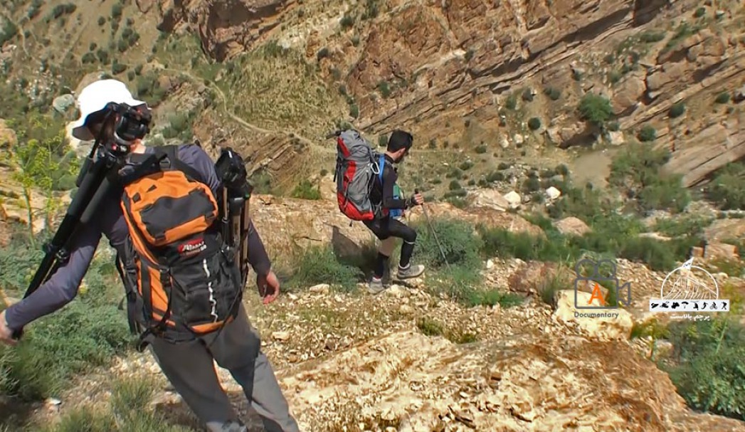 مسیر صعب العبور تا پای آبشار