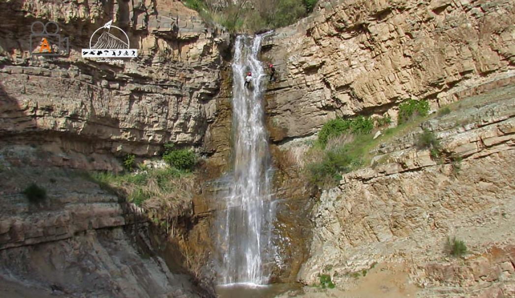 طبقه ی اول آبشار لتمال